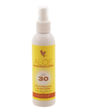 Aloe Sunscreen Spray fra Forever Living