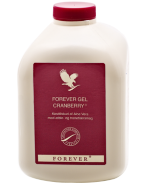 Forever Gel Cranberry med ren Aloeveera